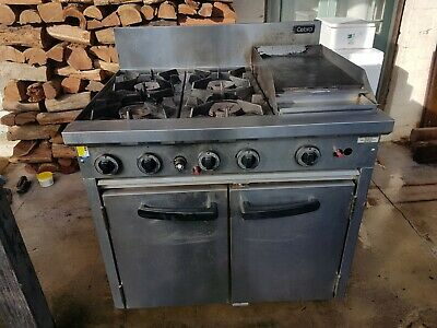 Commercial Cobra Lpg Gas Range Static Oven
