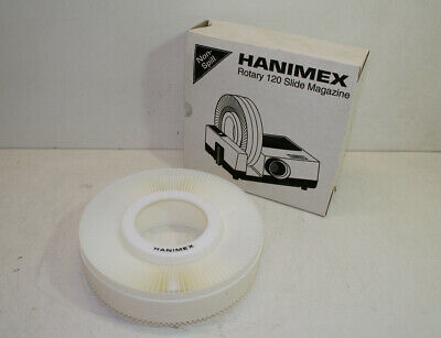 Vintage HANIMEX Rotary 120 Slide Magazine for 35mm Slides