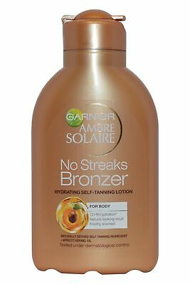 Garnier Ambre Solaire No Streaks Bronzer 150ml Hydrating Self-Tanning Lotion