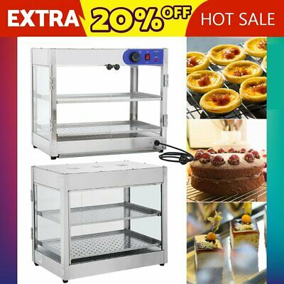Commercial Food Warmer Stainless Steel Pizza Pie Hot Display Showcase 2019 AUS