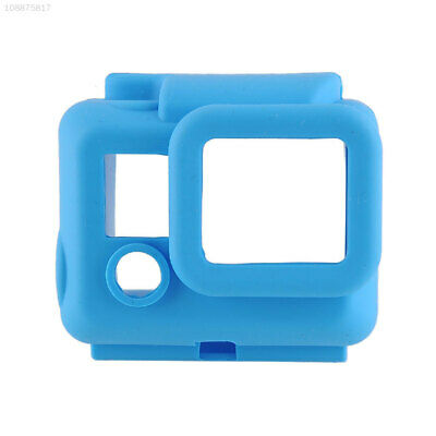 08D3 3+ Silicone Case Protective Protector Blue Silicone Case Dustproof New