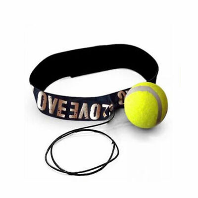 Fight Boxing Ball Equipment With Headband For Reflex Speed Training Boxing  E9G6