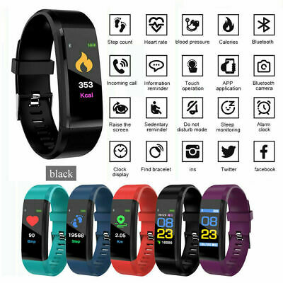 Attività Fitness Tracker HR Plus Smart Sport Watch Band Android iPhone ID115 Nuo