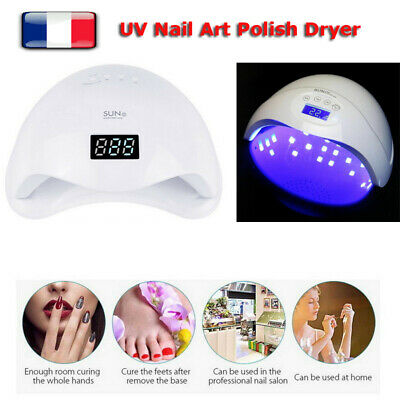 Pro SUN5 48W UV LED Séchoir à ongles lampe UV Nail Art Polish Dryer EU Plug FR