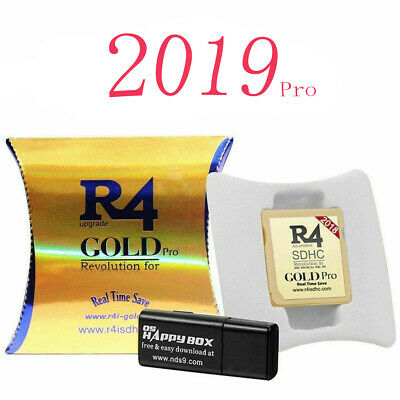 R4 Gold Silver Black Pro SDHC for DS/3DS/DSI Revolution Cartridge w/ USB Adapter