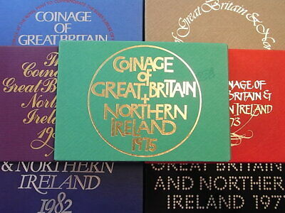 UK Proof Sets 1971 to 1982