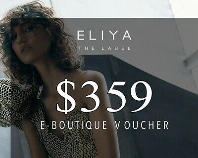 Save!!! Eliya The Label Online Gift Card Voucher Credit Value $359