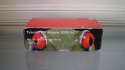 KENKO TeleCine Cine DP Adapter Converter KDP-01 with 3 lens rings ~