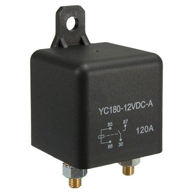 4-Pin DC 12V 120 AMP 120A HEAVY DUTY SPLIT CHARGE RELAY ON/OFF Van Car Boat M5X4