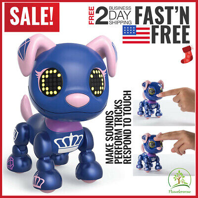 Toys For Girls Kids Children Robot Dog Puppy for 3 4 5 6 7 8 9 10 Years Olds Age