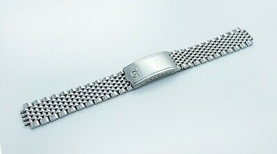 18mm Omega Watch Beads of Rice Solid Stainless Steel Replacement Bracelet