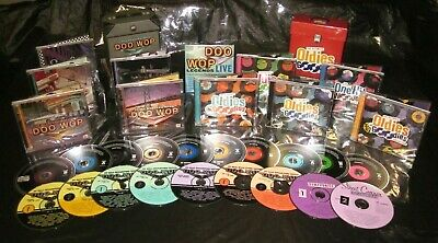 Rare TIME LIFE 19 CD Set IT ALL STARTED WITH DOO-WOP Ultimate Oldies But Goodies
