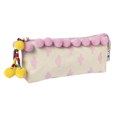 """Fourre-tout rectangulaire """"Gipsy"""" - Rose"""