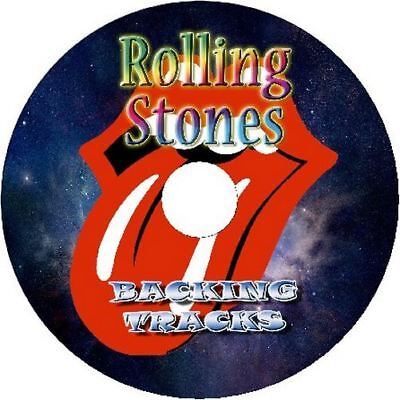 Rolling Stones Guitar Backing Tracks Audio Cd Best Greatest Hits Music Play