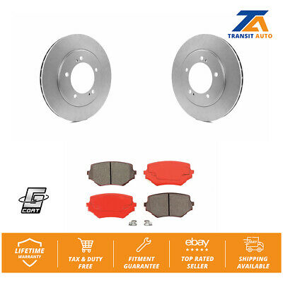 Front Drill Slot Brake Disc Rotors And Ceramic For Suzuki Grand Vitara XL-7