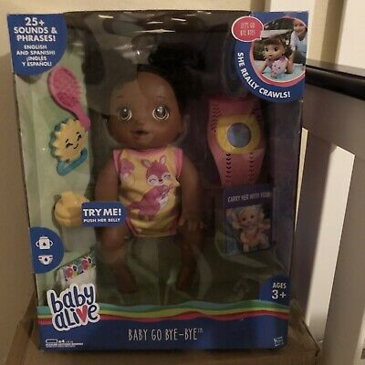Baby Alive Baby Go Bye Bye African American