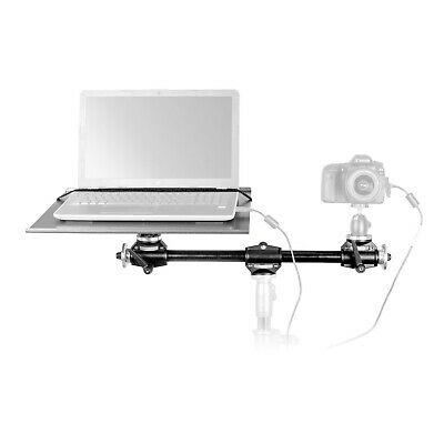 Utility/Laptop Tray with Accessory Cross Arm Kit Location Lightweight Portable