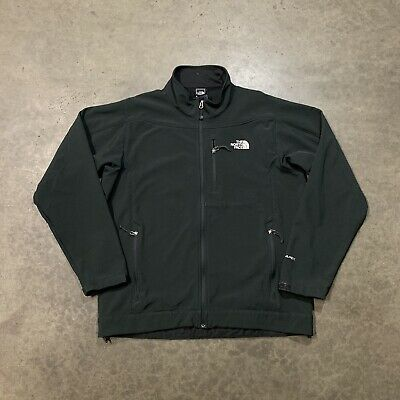 The North Face Mens Black TNF Apex Soft Shell Jacket Size XL
