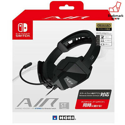 NEW Hori for Nintendo Switch Gaming Headset AIR STEREO F/S w/tracking Japan