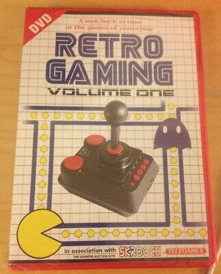 RETRO GAMING VOLUME ONE 1 DVD  still sealed as new
