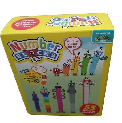 Reduced🥰🙊 Number blocks CBeebies Numberblocks ,1-10 gift autism fast delivery
