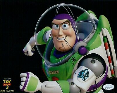 Tim Allen Toy Story 3 Signed 8x10 Matte Photo JSA Authenticated