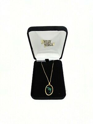 14K Gold Opal Dolphin Necklace