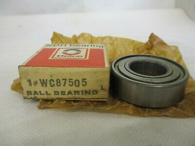 NEW NDH DELCO WC87505 BALL BEARING