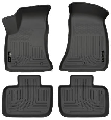 Husky Liners Front /& 2nd Seat Floor Liners Fits 11-18 300//Charger RWD 98061