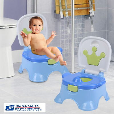 3-in-1 Potty Training Toilet Seat Baby Portable Toddler Chair For Kids Girl Boy
