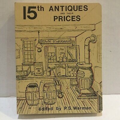 1980 15Th Antiques And Their Prices Guide By P.s. Warman