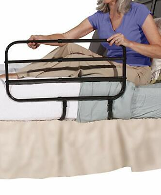 Stander Ez Adjust Bedrail Bed Handle Guard With Pouch Brown New