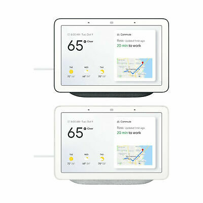 Google Home Hub (GA00516-US) Smart Home Controller with Google Assistant New