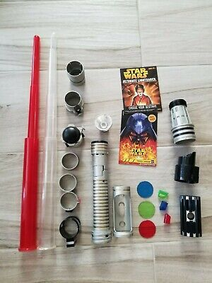 2005 Star Wars Ultimate Lightsaber - Built Your Own- Hasbro- Lucas Film Complete