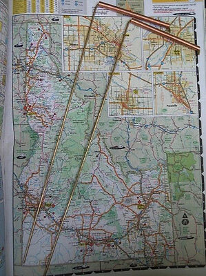 """LARGE BRASS L-Rod dowsing rods 13"""" solid copper sleeves MAP DOWSING, FIELD WORK"""