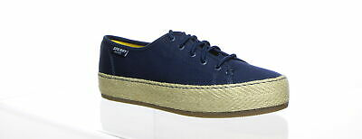 7dbd91aa2a2 SPERRY TOP-SIDER SKY Sail Metallic Twill SneakerS Size 8M Worn But ...
