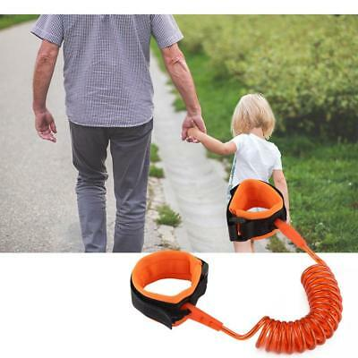 Safety Leash Anti Lost Baby Kids Wrist Link Wristband Bracelets Rope Toddler UK