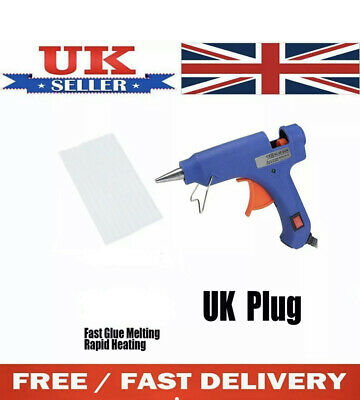 40V Mini Glue Gun craft with 7mm sticks 20w for kids small kit   FAST AND FREE