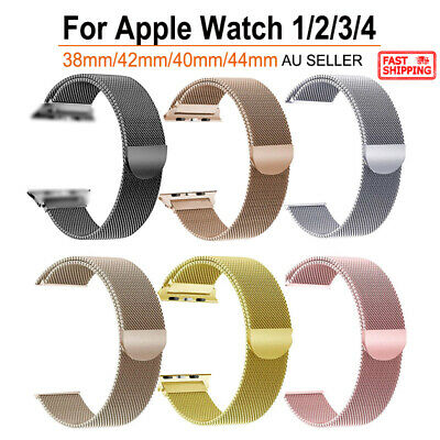 Apple Watch Milanese Watch Band Strap Bracelet Loop For iWatch Series 4/3/2/1
