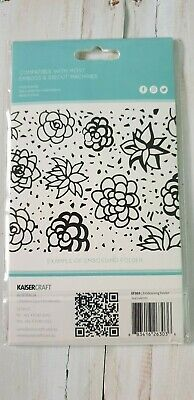 Embossing Folder -- Succulents