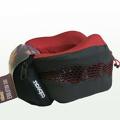 NEW Cabeau Evolution 2.0 Cool Memory Foam Neck Travel Pillow - Red TPEC2825