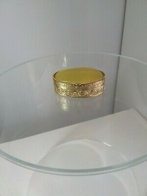 Ormolu Trinket or Ring box with Stone top