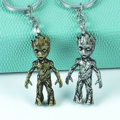 Marvel Avengers Guardians of the Galaxy Groot Alloy Key Chains Keychain Keyring