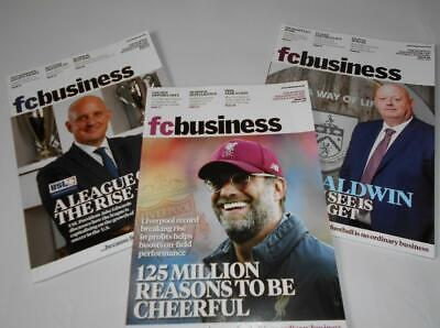 FC Business Football Magazines x3 from March-June 2019 fcbusiness Soccer