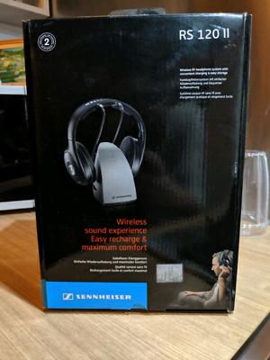 b5713207f55 SENNHEISER RS 120 II Wireless TV Headphones - $150.00 | PicClick AU