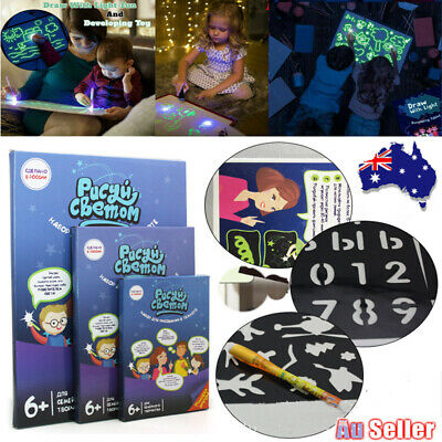 Drawing Board Magic Draw Educational Draw With Light-Fun And Developing Toy Gift
