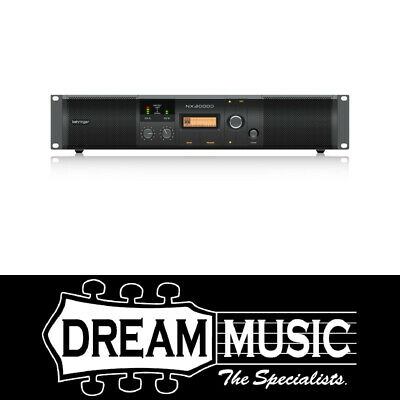 Behringer NX3000D Power Amplifier With Smartsense SAVE $100 off RRP$699
