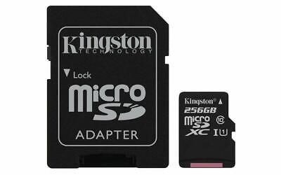 KINGSTON  Canvas Select:MicroSD 256GB , 80MB/s read and 10MB/s write