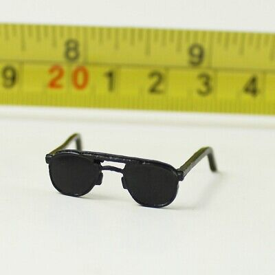 "1:6 Accessory Black Vintage Metal Glasses Model For 12/"" Male Female Figure Doll"