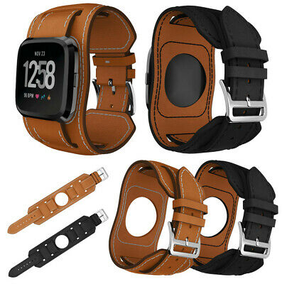 1PC Bands Leather Style Replacement Strap Wristbands For Fitbit Versa Lite Speci